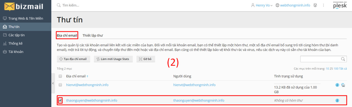 chinh sua email 1